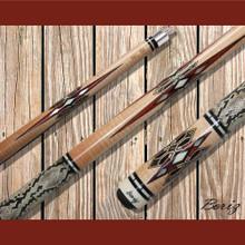 Boriz Billiards Pool Cue Stick Classic Style Serpent Skin AB 176