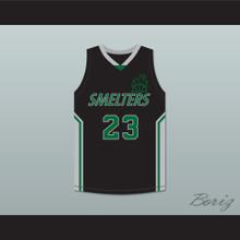 One Love 23 Mt Vernon Junior High School Smelters Basketball Jersey Rebound