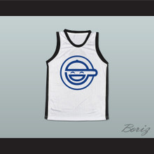 Laughing Man Basketball Jersey Any Name or Player
