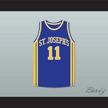 Saleh Wintambuh 11 St Joseph's Basketball Jersey The Air Up There