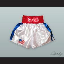 'Irish' Micky Ward White Boxing Shorts