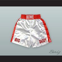 Riddick 'Big Daddy' Bowe White Boxing Shorts