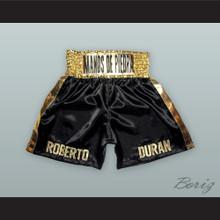 Roberto 'Manos de Piedra' Duran Black Boxing Shorts