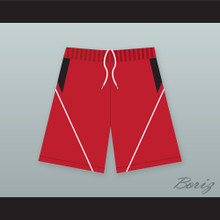 East High School Wildcats Red Basketball Shorts