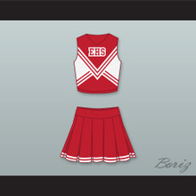 East High School Wildcats Cheerleader Uniform