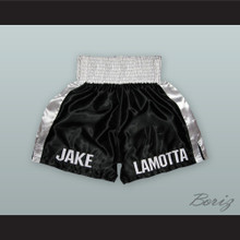 Jake LaMotta Black Boxing Shorts