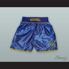 Kevin 'The Hammer' Mitchell Blue Boxing Shorts