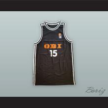 Dirk Nowitzki 15 Germany National Team Black Basketball Jersey