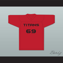 Ace 69 Titans Intramural Flag Football Jersey Balls Out