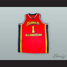 Tracy McGrady 1 McDonald's All American Basketball Jersey