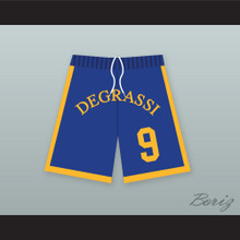 Jimmy Brooks 9 Degrassi Community School Panthers Basketball Shorts