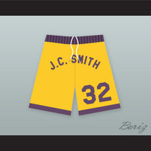 """Earl """"The Goat"""" Manigault 32 J.C. Smith College Basketball Shorts"""