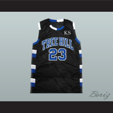 Nathan Scott 23 One Tree Hill Ravens Black Basketball Jersey Any Player