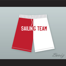 Lil Yachty Lil Boat 44 Sailing Team Red/White Shorts