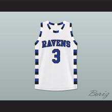 Antwon Skills Taylor 3 One Tree Hill Ravens Basketball Jersey Stitch Sewn