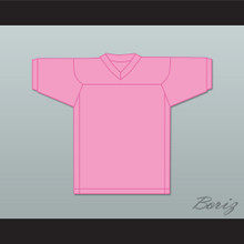 Independence Community College Pirates Pink Practice Football Jersey