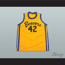 Teen Wolf Scott Howard 42 Beacon Beavers Basketball Jersey