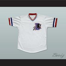 Ebby Calvin 'Nuke' LaLoosh 37 Bull Durham Baseball Jersey Stitch Sewn New