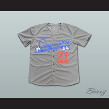Roberto Clemente 21 Santurce Crabbers Puerto Rico Baseball Jersey All Sizes