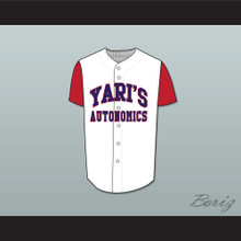Yari Team Captain Yari's Autonomics Baseball Jersey Stitch Sewn Deluxe Edition