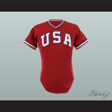 Coach Tom Hoffman USA Team Baseball Jersey New Any Size or Player