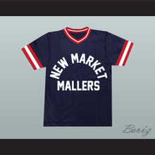 Al Bundy 14 New Market Mallers Dark Blue Baseball Jersey