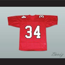 Artie Abrams 34 William Mckinley High School Football Jersey