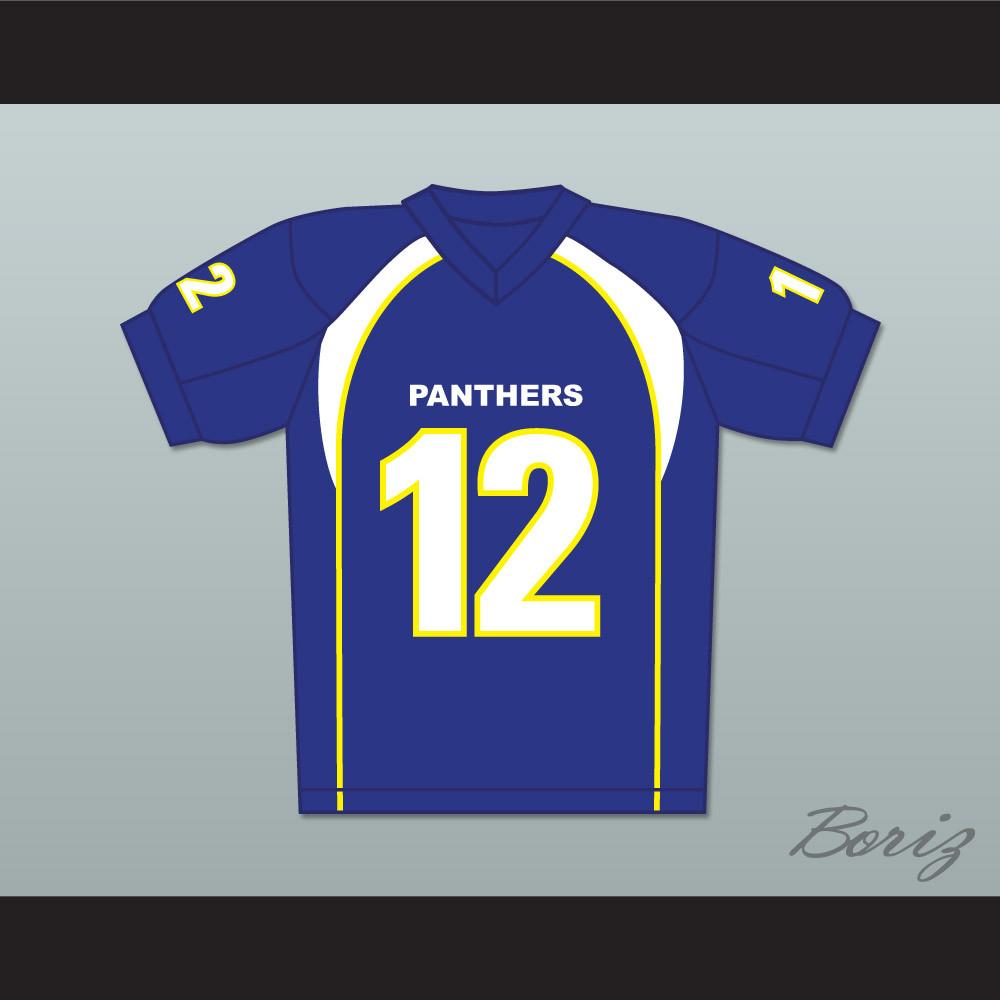 J D Mccoy 12 Dillon Panthers Football Jersey Friday Night