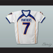 Friday Night Lights Matt Saracen 7 Dillon Panthers Football Jersey White New