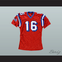 Keanu Reeves Shane Falco 16 Sentinels Football Jersey The Replacements