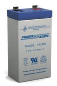 Power-Sonic PS-260 2V 6Ah Battery