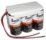 Enersys Cyclon 0800-0115 Battery - 12V 5.0Ah Sealed Lead Rechargeable (Shrink Wrap)