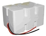 Enersys Cyclon 0800-0047 Battery - 12V 5.0Ah Sealed Lead Rechargeable (Styrene Case)