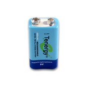 Tenergy 9V 250mAh NiMH Rechargeable Battery