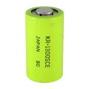 Panasonic KR-1800SCE Battery - 1.2 Volt 1800mAh Sub C Ni-Cd