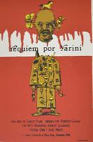 """Raúl Martínez #25. """"Requiem por Yarni,"""" 1988. Silkscreen, 27 1/23 x 20 inches."""