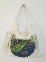 Sandra Dooley #6692. Handpainted canvas bag