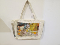 Sandra Dooley #6709. Hand Painted bag