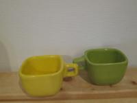 Casaguay Foundation #6569 . Ceramic cups from Satiago de Cuba.