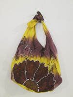 #6722. Hand painted bag, acrylic on canvas.