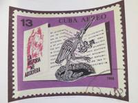 """Brito (Yamilys Brito Jorge) #6060. """"Somos grulla en mi tiera,"""" 2013. Print edition  2/3.  15 x 22 Inches."""