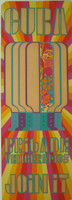"Antonio Fernandez Reboiro. ""Brigade Venceremos. Join it,"" 1969. Silkscreen print. 391/4 x 14 inches."