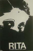 """Azcuy (René Azcuy Cardenas) """"Rita,"""" 1981. Silkscreen. 30 x 20 inches."""