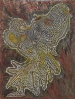 Gloria de la Caridad #6414. Untitled, N.D. Ink on paper. 11 x 8.5 inches.