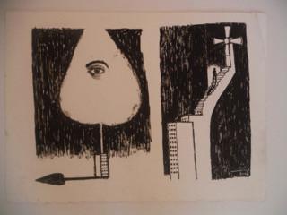 """Untitled, Agustin Bejarano. #5941. 2006. 10.75"""" x 14.75""""."""