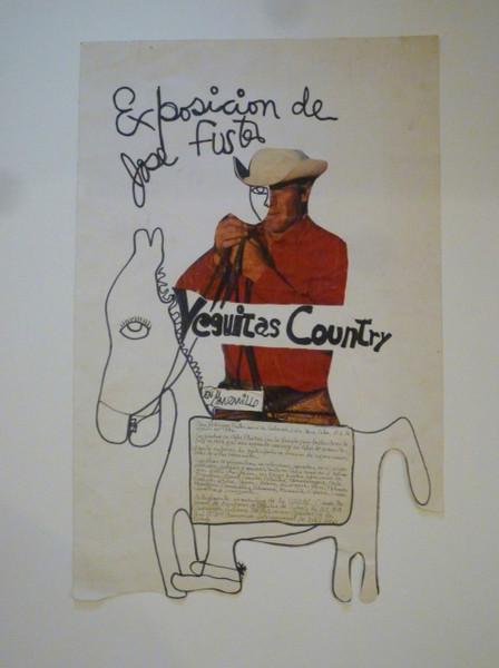 """Exposición de Jose Fuster"" by Jose Fuster, #3499. 22"" x 14.25""."