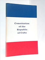 Center for Cuban Studies (Author), Constitution of the Republic of Cuba (Paperback)