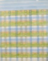 "Carlos Cárdenas #4158. ""Landscape,"" 2001. Watercolor and pencil on paper. 17.25 x 13.75 inches."