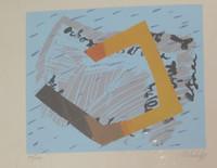 Nelida Lopez #335 (SL) Untitled, 1989. Serigraph print edition 34/250.   9.5 x 10.5 inches