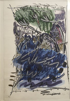 Flora Fong #342. Untitled, 1992. Serigraph print  edition 16/30. 27.5 x 20 inches
